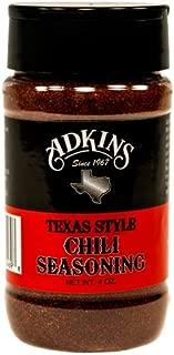 Adkins Texas Style Chili Seasoning - All Natural