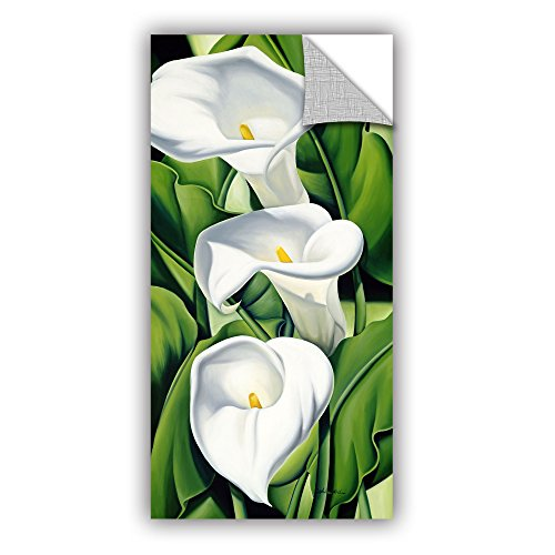 ArtWall Catherine Abel's Lillies 2002 Art Appeelz Removable Graphic Wall Art, 12