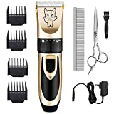 Best Pet Trimmers - Dog Grooming Kit Clippers, Low Noise, Electric Quiet Review