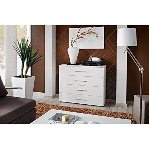 ASM Commode - GO I - 100 cm x 83 cm x 40 cm - Blanc