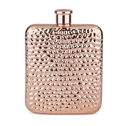 Final Touch Copper Plated Luxe Flask
