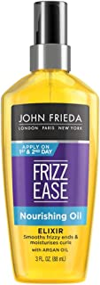 John Frieda Frizz Ease Nourishing Elixir Oil, 3 Ounces