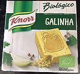 Knorr, Bouillon Bio aux Poulet, Cubes pour Bouillon Poulet Bio, 6 x 10 gr.