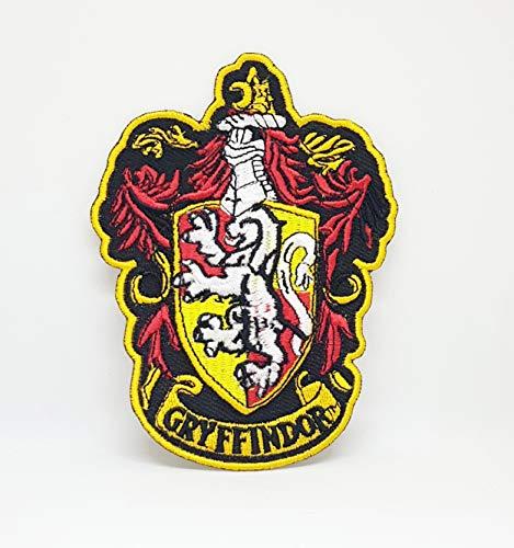 Parche bordado con el escudo de Gryffindor de Harry Potter para coser o planchar