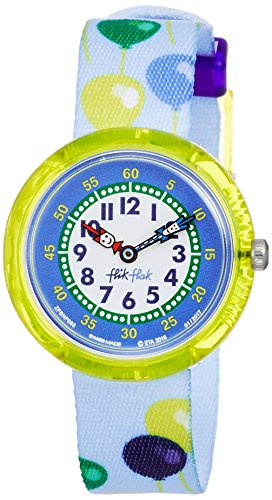 FlikFlak Jungen Analog Quarz Uhr mit Stoff Armband FBNP085