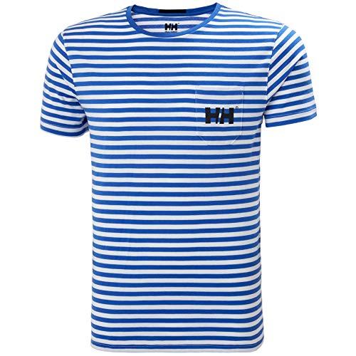 Helly Hansen heren Fjord T-shirt, blauw, S