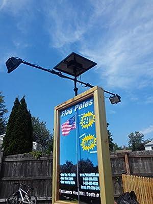 PolePalUSA Commercial Solar Billboard Light 2