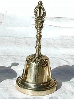 Tryptique Montre Baroque en laiton bruni avec Candelabri fran/çais de console