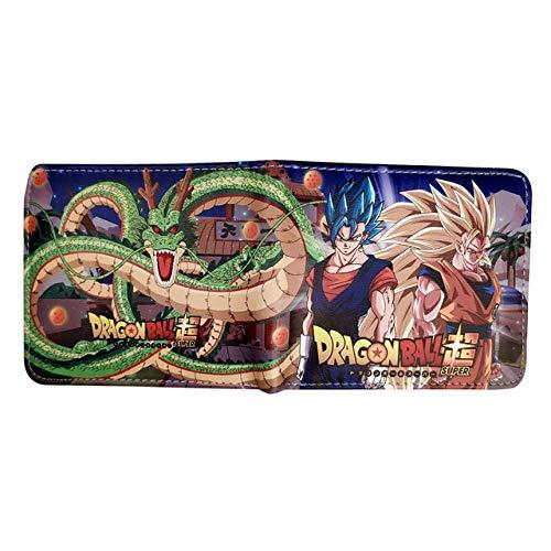 Portemonnee Hero Academie/Dragon Ball/Captain Mens Bifold Anime Portemonnee Coin Pocket Jongens Kaart-ID Houders Cartoon Portemonnee