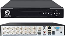 JOOAN 16 Channels H.264 Network Motion Detection 16CH DVR CCTV Surveillance Security System Digital Video Recorder 5-in-1 DVR Supports Analog IP Camera Max 2MP No Hard Drive included