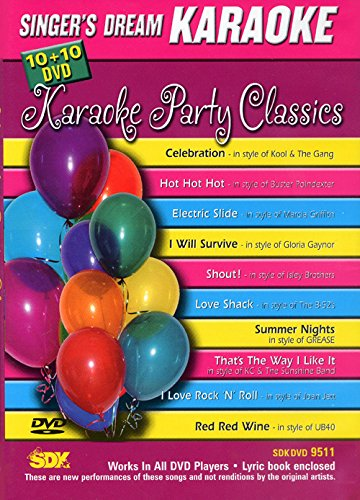 """DVD KARAOKE SINGER\'S DREAM \""""Karaoke Party Classic\"""" [Francia]"""