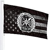 NPZBHoney3x5 Tacp Crest Flag 3' X 5' Ft Banner Breeze Flag
