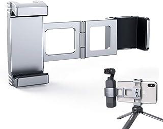 Foldable Aluminum Alloy Metal Smartphone Clamp for DJI Pocket 2/ Osmo Pocket