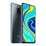 "Xiaomi Redmi Note 9S Smarphone, 6 GB + 128 GB, 48 MP AI Quad Camera, 6.67""FHD + 5020mAh Typ18W Caricamento Rapido, Alexa Hands-Free, Grigio (Interstellar Grey)"