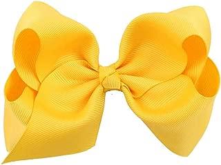 Jojckmen 12cm Cute Hair Bows Baby Girl Toddler Kids Bowknot Clip Ribbon Headbands