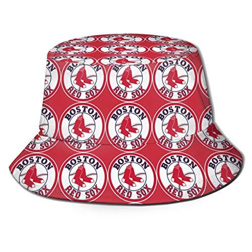 G-III Sports Boston Red Sox Cotton Bucket Hats Unisex Wide Brim Outdoor Summer Cap Hiking Beach Sports