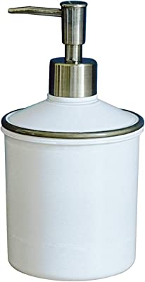 素地のナカジマ シャンプー用ディスペンサー ホワイト 約500ml MUDDY RING ディスペンサー (日本製) 19-457153 サイズ:約φ10 H18.4cm
