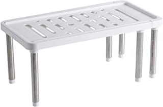 Étagère de placard extensible Support de rangement de cuisine multifonction Organisateurs d'étagères rétractables pour cui...