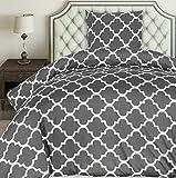 Utopia Bedding Bettwäsche-Set - Mikrofaser Bettbezug und Kissenbezug -