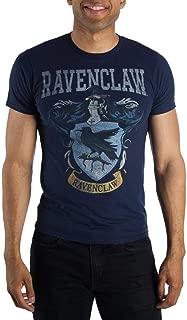 Ravenclaw Crest Mens Navy Blue Hogwarts T-Shirt