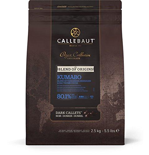 Callebaut Feinste, Kumabo dunkle Schokoladenstückchen