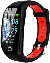 Smart Polsband_Fitness Tracker Gezondheid Cardio Armband Hartslag Bloed Stappenteller Smart Polsband Zwart/Groen Zwart Rood