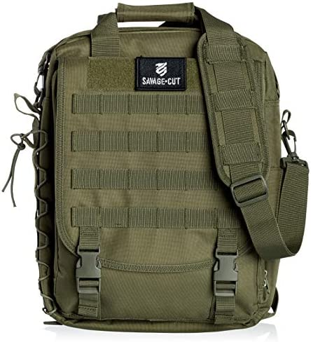 Savage Cut Tactical Laptop Multi Function Military Backpack OD Green product image