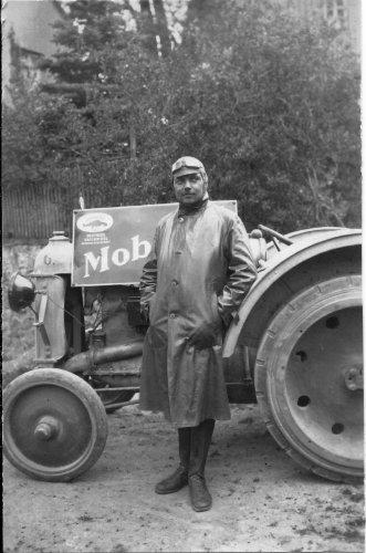 Mit dem Motorpflug auf dem Balkan 1913
