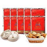 10 paquetes 12 g / paquete Levadura en polvo de levadura seca altamente activa Horneado tostadas de pan galletas levadura en polvo Pruebe panqueques, pasta, masa de pizza, muffins, pasteles y más