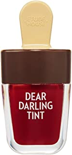 ETUDE HOUSE Dear Darling Water Gel Tint 4.5g (RD308) - Long Lasting Vivid Lip Color Tint, Mineral & Vitamin Extracts Makes...