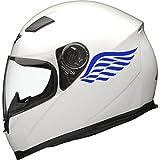 Calcomanías para casco de moto de Ángel Wings, 2 unidades,