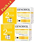 Oenobiol Solaire Intensif Nutriprotection Peaux Claires - Lot de 4 x 30 Capsules PC