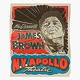 Badpakken Concerts Soul Vintage Billboard Brown Music James