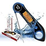 termometro per carne, termometro da cucina, termometro digitale per barbecue, sonda pieghevole, migliori termometri per carne, termometro digitale impermeabile per carne a lettura istantanea