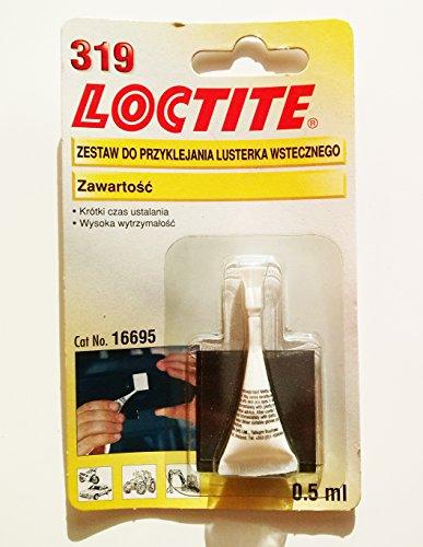 Loctite 319 Kit adhésif et colle pour métal et verre pour rétroviseur arrière
