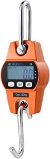 Crane Scale,Klau Mini Hoist 300 kg / 600 lb Industrial Heavy Duty Digital Hanging Scales Orange