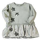 boboli, VESTIDO TRICOTOSA COMBINADO - Vestido para bebés, color perla, talla 3 años