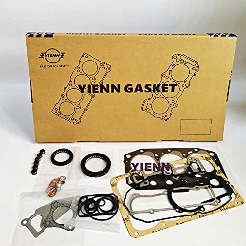 3TN82 Engine Full Gasket Set For Yanmar Diesel Engine Parts Fit Construction Machinery Mini Excavator Tractor Loader