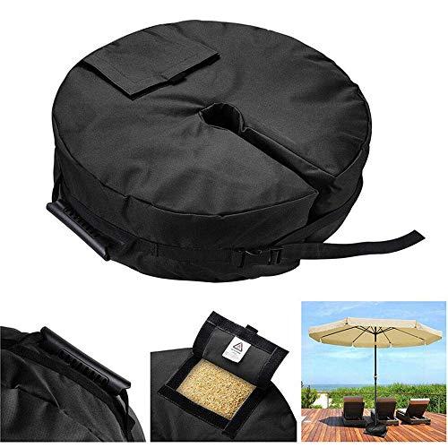 Tienda de campaña sacos de arena fija la bolsa al aire libre con el apoyo de la cremallera 600D para el anclaje Gazebos Carpas sombras de Sun camas elásticas para niños Jardín Juguetes Muchos Más