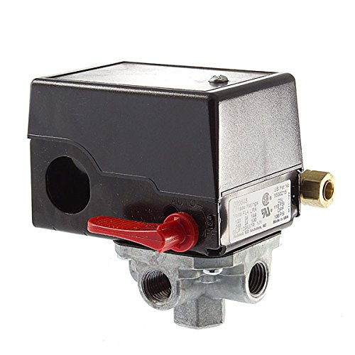 Porter Cable / DeVilbliss Replacement 4 PORT Pressure SWITCH # D20645