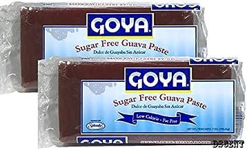 Goya Sugar Free Guava Paste 7 oz (2 pack) Dulce de Guayaba Sin Azucar