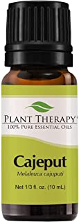Plant Therapy Cajeput Essential Oil 10 mL (1/3 oz) 100% Pure, Undiluted, Therapeutic Grade