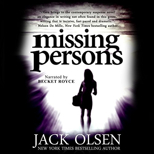 Missing Persons audiobook cover art