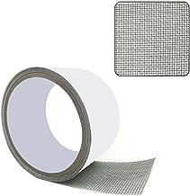 BSMEAN Vliegscherm reparatie tape, raamscherm reparatie patch tape glasvezel reparatie tapes sterke zelfklevende mesh repa...