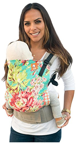 Tula Ergonomic Carrier, Bliss Bouquet-Toddler Size, 25-60 Pounds