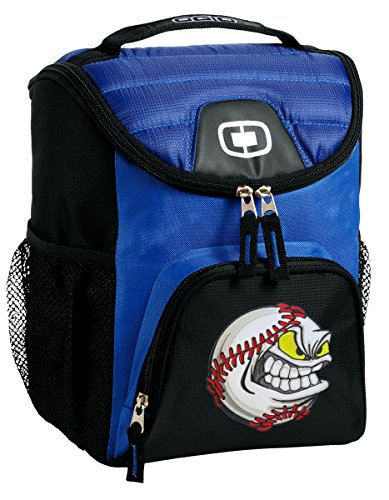 Baseball Lunch Bag Soft Cooler BASEBALL FANATIC Best Size Lunchbox