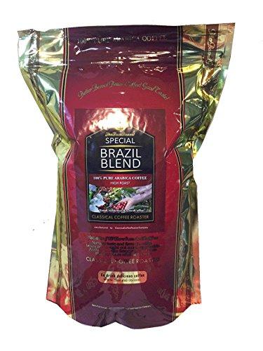 コーヒー豆 クラシカルコーヒーロースター アラビカ豆 スペシャルブラジルブレンド 2.2lb(1Kg) 中粗挽
