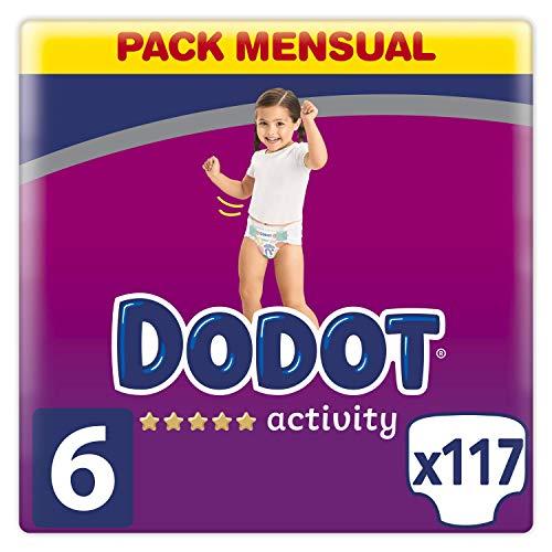 Dodot Activity - Pañales con Ajuste más Resistente,13 kg