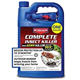 BIOADVANCED 700055A Complete Insect Germ Ant and Roach Killer for Pest Control, 1-Gallon, Ready-to-Use