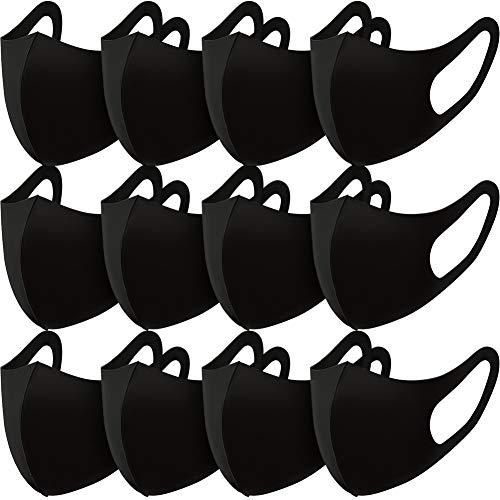 Máscara Facial Antipolvo EXTSUD, 12 máscaras faciales anticontaminación, Reutilizables, Lavables al Aire Libre, Unisex